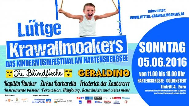 Flyer Kindermusikfestival 2016