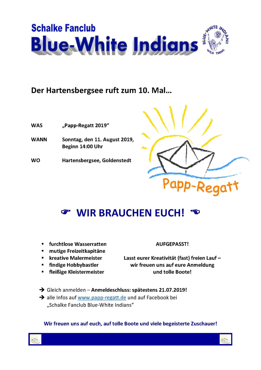 Flyer Papp Regatt2019